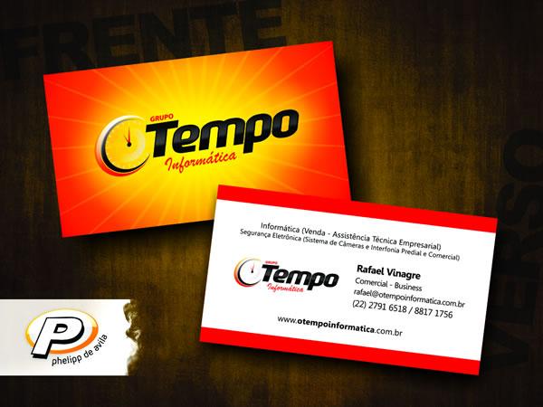 Desenvolvimento de Cartão de Visitas para o Grupo Tempo Informática