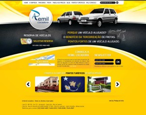 Desenvolvimento de Website para a Remil Locadora da Veículos
