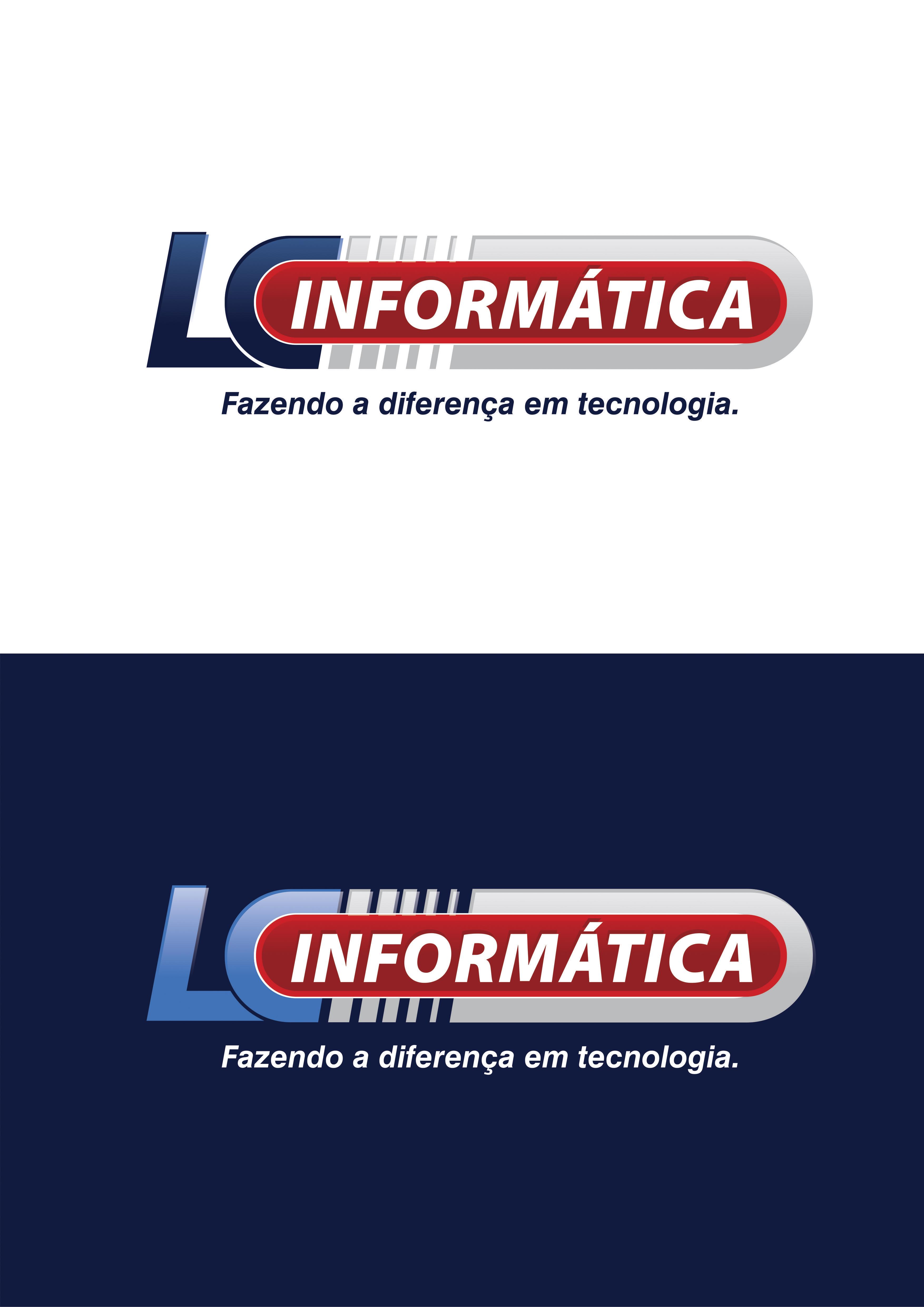 Criação de Logomarca para LC Informática