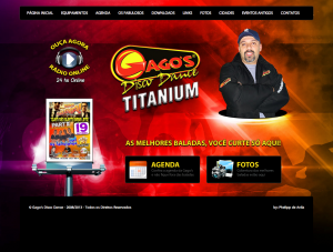 Desenvolvimento de Website para a Gago's Disco Dance