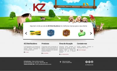 Desenvolvimento de Website para a KZ Distribuidora