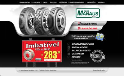 Desenvolvimento de Website para Rede Manaus Jamapará