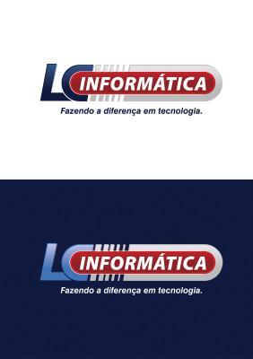 Criação de logo para LC Informática